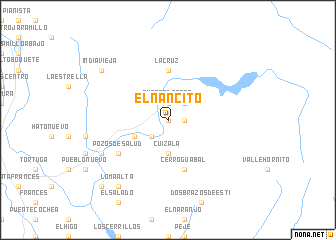 map of El Nancito