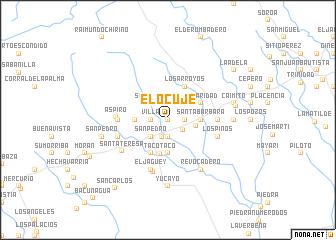 map of El Ocuje