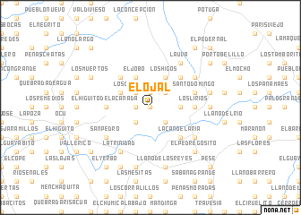 map of El Ojal