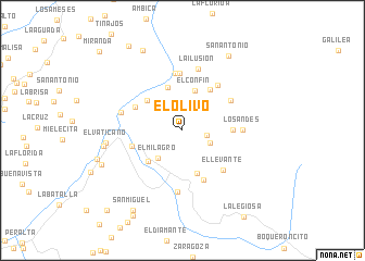 map of El Olivo