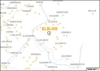 map of El Olivo
