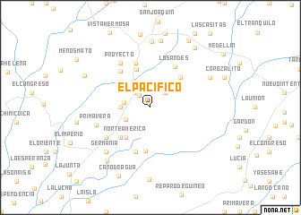 map of El Pacífico