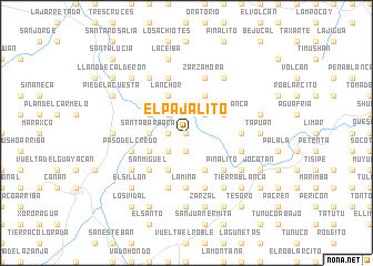 map of El Pajalito