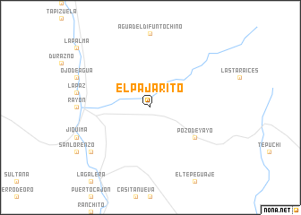 map of El Pajarito