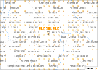 map of El Pañuelo
