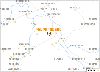 map of El Paradero