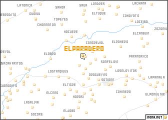 map of El Paradero