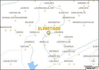 map of El Partidor