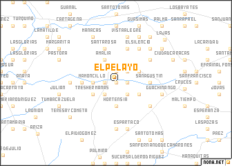 map of El Pelayo