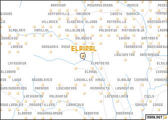 map of El Piral