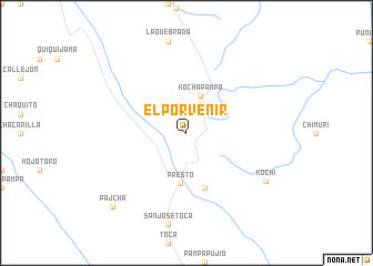 map of El Porvenir