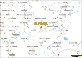 map of El Pujal