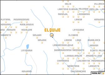 map of El Quije
