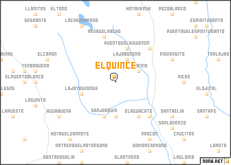 map of El Quince