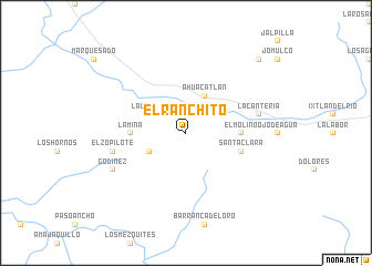 map of El Ranchito