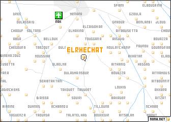 map of El Rhechat