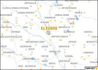 map of El Ruano