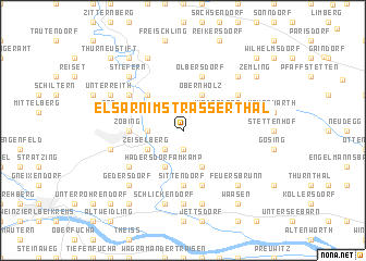map of Elsarn im Strasserthal