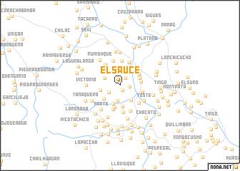 map of El Sauce