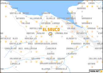 map of El Saúco