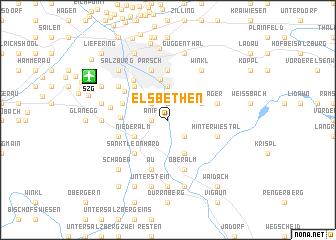 map of Elsbethen