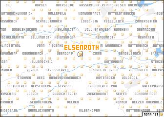 map of Elsenroth