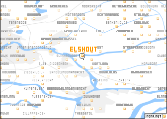 map of Elshout