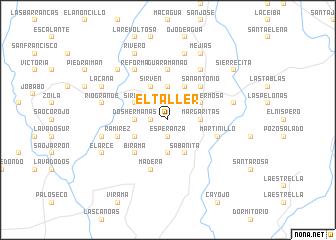 map of El Taller
