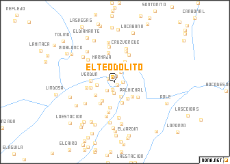 map of El Teodolito