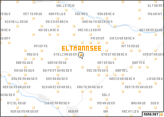 map of Eltmannsee