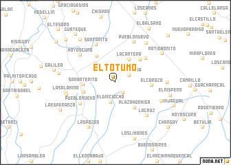 map of El Totumo