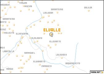 map of El Valle