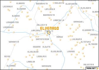 map of El Venado
