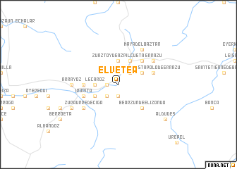 map of Elvetea