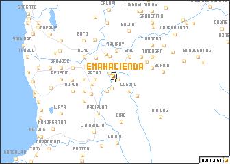 map of Ema Hacienda