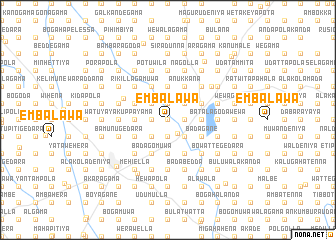 map of Embalawa