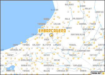 map of Embarcadero