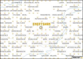 map of Emertsham