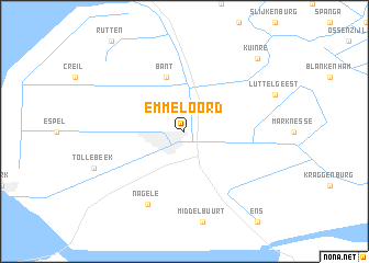 map of Emmeloord