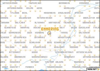 map of Emmering