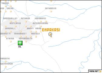 map of Empakasi