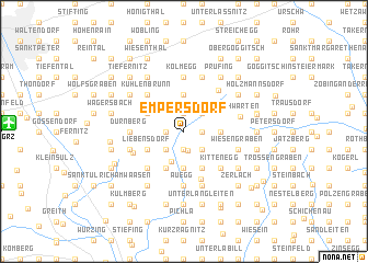 map of Empersdorf