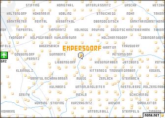 map of Empersdorf