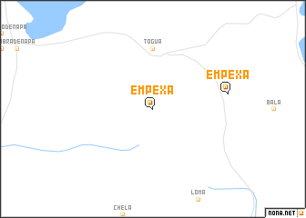 map of Empexa