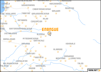 map of Enangue