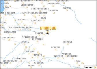 map of Enangue