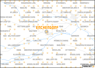 map of Enchendorf