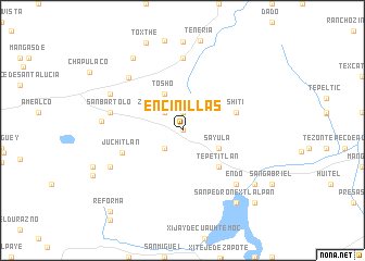map of Encinillas