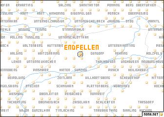 map of Endfellen