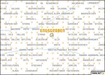 map of Endsgraben